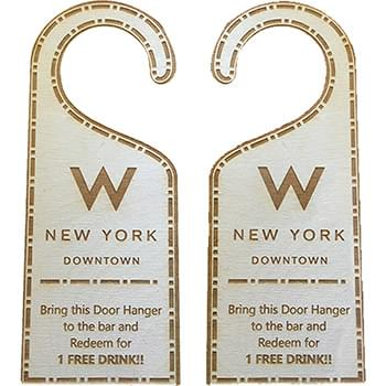 HOT DEAL - Custom Wood Door Hangers