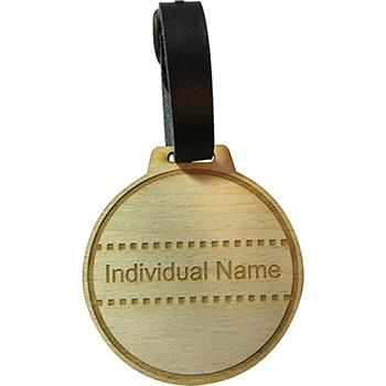 Wood Golf Bag Tags